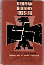 Buy GERMAN HISTORY 1933 - 45 :: 1963 HB w/ DJ :: FREE Shipping