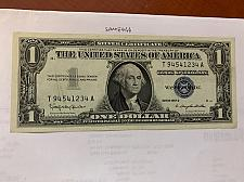 Buy United States Washington uncirc. blue banknote 1957 B #6