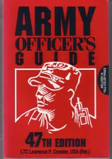 Buy ARMY OFFICER'S GUIDE :: 47th Edition :: FREE Shipping