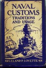 Buy NAVAL CUSTOMS :: Traditions and Usage :: 1942 HB w/ DJ :: FREE Shipping