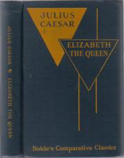 Buy JULIUS CAESAR & ELIZABETH THE QUEEN :: 1954 HB :: FREE Shipping