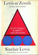 Buy Sinclair Lewis Three-Novel Omnibus 1961 HB w/ DJ :: FREE Shipping