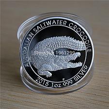 Buy Australia Crocodile souvenir uncirc. coin 2015