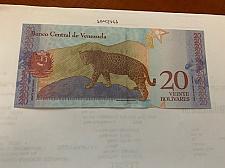 Buy Venezuela 20 bolivares uncirc. banknote 2018