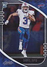 Buy Gabriel Davis #136 - Bills 2020 Panini Rookie Football Trading Card