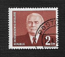 Buy German DDR Used Scott #121 Catalog Value $.50
