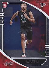 Buy AJ Terrell #102 - Falcons 2020 Panini Rookie Foil Football Trading Card