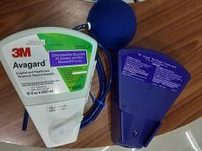 Buy 3M Avagard 500 ml with wallmount and pedal pump