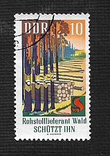 Buy Germany DDR Used Scott #1102 Catalog Value $.25