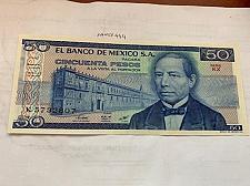 Buy Mexico 50 pesos uncirc. banknote 1981