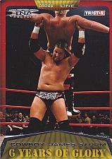 """Buy """"Cowboy"""" James Storm #21 - TNA 2008 Gold TriStar Wrestling Trading Card"""