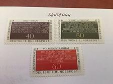 Buy Germany Democracy mnh 1981 stamps
