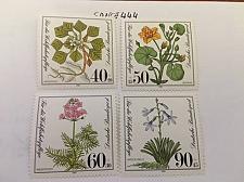 Buy Germany Welfare Waterplants mnh 1981 stamps