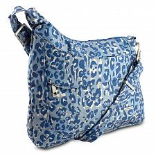 Buy Travelon Anti-Theft Asymmetric RFID Crossbody, Blue Leopard