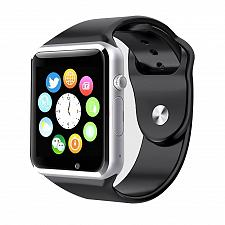 Buy Style Asia Touch Screen Bluetooth Enabled Smart Watch - Black Matte Finish