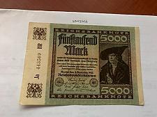 Buy Germany 5000 marks circulated banknote 1922 #4