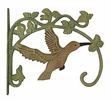 Buy Cast Iron Hummingbird Plant Hanger Set of 2