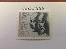 Buy Germany Nobel prizes 1982 mnh stamps