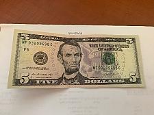 Buy United States Lincoln $ 5.00 crispy banknote 2013 #1