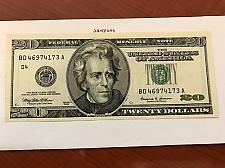 Buy United States Jackson $20.00 uncirc. banknote 1999 #1