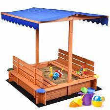 Buy Kids Outdoor Playset Cedar Sandbox