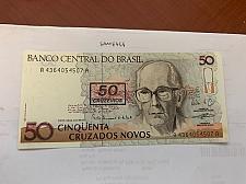 Buy Brazil 50 cruzados uncirc. banknote 1990
