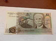 Buy Brazil 10 cruzados uncirc. banknote 1990