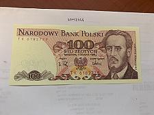 Buy Poland 100 zlotych uncirc. banknote 1988 #1