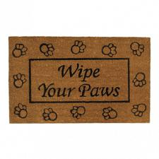 Buy Wipe Your Paws Welcome Mat