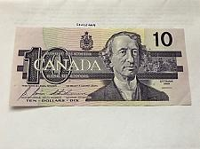 Buy Canada ten dollars circulated banknote 1989 #1