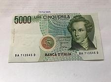 Buy Italy Bellini uncirculated banknote 5000 lira #1
