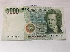 Buy Italy Bellini uncirculated banknote 5000 lira #2