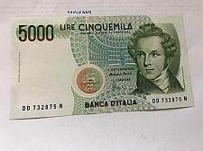 Buy Italy Bellini uncirculated banknote 5000 lira #3