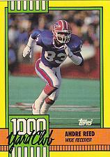 Buy Andre Reed #7 - Bills 1990 Topps Football Trading Card