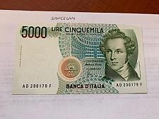 Buy Italy Bellini uncirculated banknote 5000 lira #5