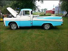 Buy 1957 Dodge D-100 1/2 Ton Sweptside Pickup