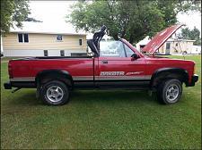 Buy 1989 Dodge Dakota Swepline Sport Convertible