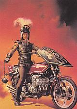 Buy Knight on Wheels #70 - Boris 1991 Fantasy Art Trading Card