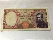 Buy Italy Michelangelo banknote 10000 lira 1966
