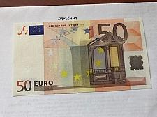 Buy Italy 50 euro uncirculated banknote 2002 #1