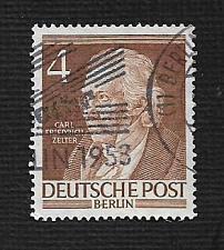 Buy German Berlin Used Scott #9N84 Catalog Value $.50