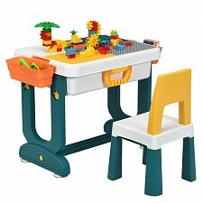 Buy 5 in 1 Kids Activity Table Set
