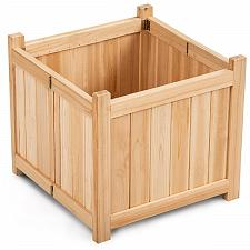 Buy Patio Lawn Folding Garden Square Wood Flower Planter Box