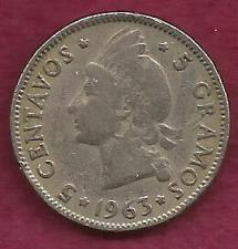 Buy DOMINICAN REPUBLIC - 5 Centavos 1963 Coin