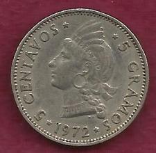 Buy DOMINICAN REPUBLIC - 5 Centavos 1972 Coin
