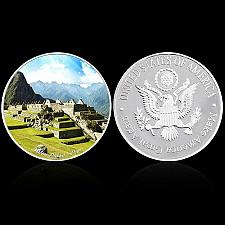 Buy United States Wonders of World Machu Picchu golden coin