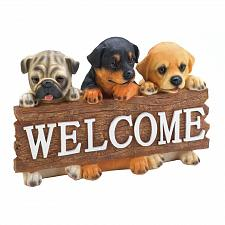 Buy Puppy Dog Welcome Plaque