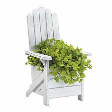 Buy White Adirondack Chair Planter