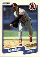 Buy 1990 Fleer #139 Bob McClure Angels NM-MT