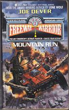 Buy Mountain Run (Freeway Warrior #2) by Joe Dever 1990 Paperback Book - Good